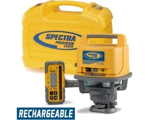 Spectra Precision Ll500 Rotary Laser Level Hl700 Receiver Rechargeable Battery