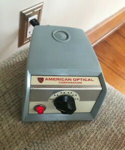 American Optical 1051 Transformer Spencer Laboratory Microscope Power Supply