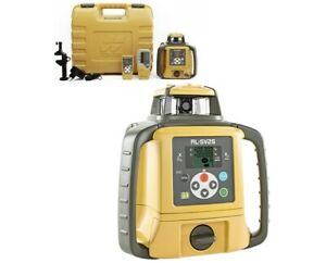 Topcon Rl sv2s Dual Slope Rotary Laser Level With Ls 80l Receiver And Remote