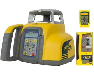 Spectra Precision Gl422n Dual Slope Grade Laser Level With Cr600 Receiver