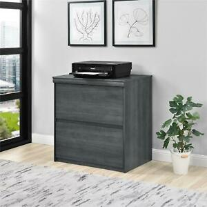 Presley Lateral File Cabinet Weathered Oak