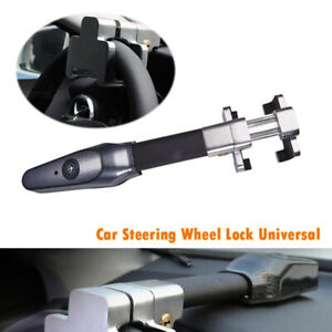 Steering Wheel Security Anti Theft Safety Alarm Lock Universal For Car Suv Truck