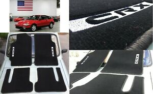 Floor Mats Carpet Tailored 4pcs Nos Style Lhd Fits For 1988 1991 Honda Civic Crx