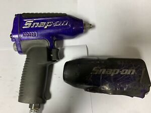 Very Rare Snap On Mg325 3 8 Drive Purple Air Impact Wrench Protective Boot