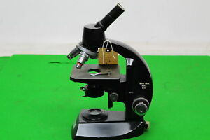 Vintage Vickers Laboratory Microscope Includes 3 Objectives