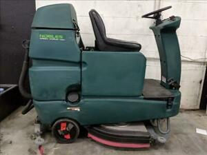 Tennant nobles T 7 Speed Scrub Ride On Floor Scrubber