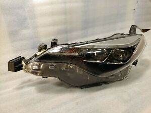 Oem 2017 2018 Toyota Corolla S Model Driver s Side Led Headlamp