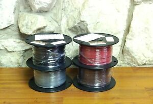 500 Ft Tfn tewn Wire 18 Awg Solid 600 Volt Made In Usa Pick One Color