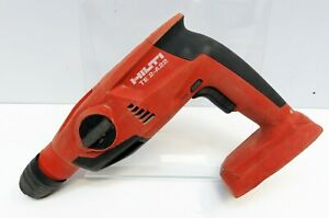 Hilti Te 2 a22 Cordless Hammer Drill Sds plus Tool Only No Handle Used