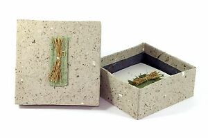 Large Memo Box Branches From Handmade Paper Fair Trade Y 24