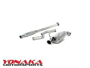 Yonaka 1996 00 Honda Civic Hatch 3dr 2 5 Catback Exhaust Cx Dx Models Only