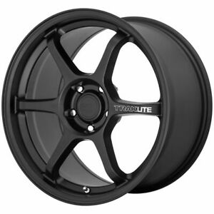 One 1 18x9 5 Motegi Traklite 3 0 Et 45 Black 5x114 3 5x4 5 Wheel Rim