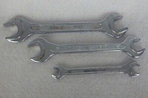 Mercedes Benz Open End Wrench Set Lot Of 3 Germany