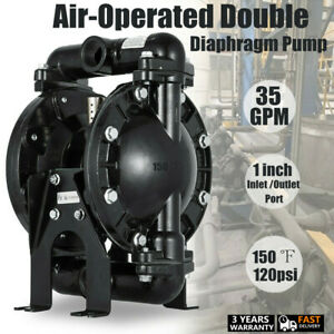 Air operated Double Diaphragm Pump Positive Displacement For Water Diesel Kerose
