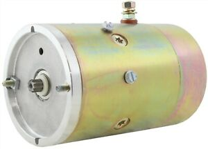 New Hydraulic Pump Motor Fits Northman Snow Plow Applications 12 Volts 4142ac