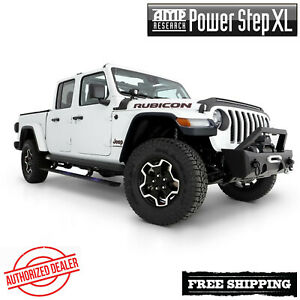 Amp Research Powerstep Xl Automatic Running Boards W Lights 2020 Jeep Gladiator