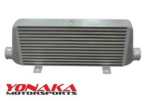Yonaka 21x9x3 Core Aluminum Intercooler 550 Hp Bar And Plate 2 5 In Out