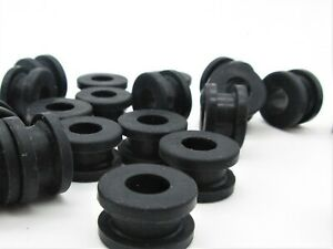 3 8 Id Rubber Grommets For 1 2 Panel Hole 11 16 Od Fits 3 16 Panel