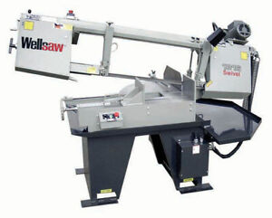 Wellsaw 1316 ext Extended Capacity Miter Head Bandsaw Made In Usa Free Shipping