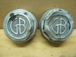 Vintage Graham Brothers Gb Car Truck Axle Wheel Hub Grease Cap Dust Cover Hubcap
