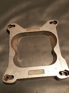 Mr Gasket 1932 Carburetor Adapter Square Carburetor To Spread Manifold Preowned