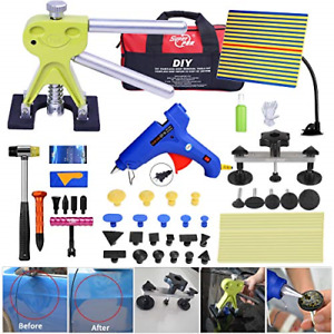Fly5d 44pcs Auto Car Body Paintless Dent Repair Removal Tools Kit Dent Lifter A