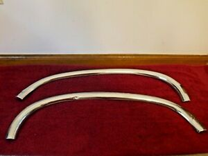 Corvette C1 1961 62 Used Orig Left And Right Side Deck Lid Moldings Pair