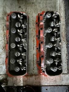 Big Block Chevy Oval Port Heads For Corvette Or Chevelle