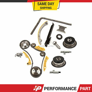 Timing Chain Kit Vct Selenoid Actuator Gear For Gm Ecotec 2 2l 2 4l