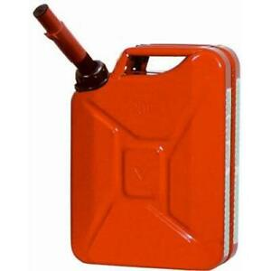 Midwest Can Company 5800 Midwest Can 5 Gallon Metal Jerry Gasoline Can