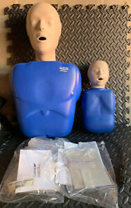 Cpr Training Manikin Torso Cpr Prompt Complient Adult Child W Extra Lung Bags
