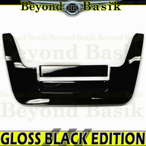For 2005 07 08 09 10 11 2012 Nissan Frontier Gloss Black Tailgate Handle Cover