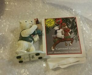Vintage Coca Cola Polar Bear Cubs Collection H72011 NEW