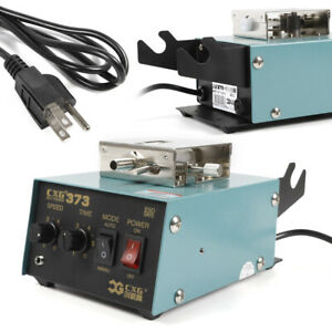 110v Manual Lead free Welding Soldering Machine Automatic Tin Supply Feed System
