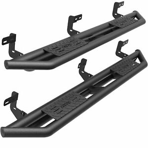 Oedro 6 Tri tube Armor Running Boards Fit For 2009 2019 Dodge Ram 1500 Quad Cab