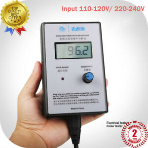Ac Noise Analyzer Emi Meter Ac Noise Meter With Lcd Display Power Cord