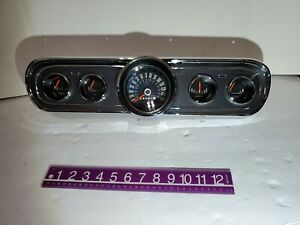 1966 Ford Mustang Instrument Gauge Cluster Reconditioned Fastback Coupe Classic
