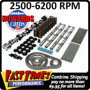 Howard S Bbc Chevy Retro Fit Hyd Roller 286 300 601 612 112 Cam Camshaft Kit