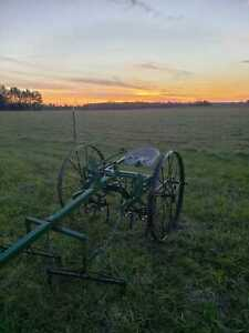 Pioneer Homesteader Horse Drawn Plow Disc Cultivator