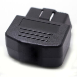 Universal Black 16pin Male Cable Obd2 Connector Adapter Terminal Diagnostic Tool