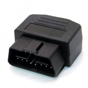 16 Pin Male Cable Obd2 Connector Adapter Terminal Diagnostic Tool Universal Fit