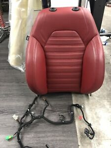 2017 Alfa Romeo Giulia Left Front Top Seat Cushion W Airbag used