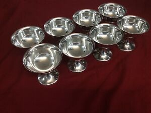 Gorham Sterling 574 Sherbet Bowls 8 Total Being Sold Individually Not As A Set