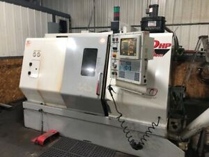1999 Haas Sl 20 T Cnc Turning Center Lathe Tailstock 8 Chuck 8x20 2 Hole Tools