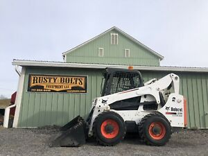 2015 Bobcat A770 Skid Steer Loader 92hp Kubota All Wheel Steer Cheap Shipping