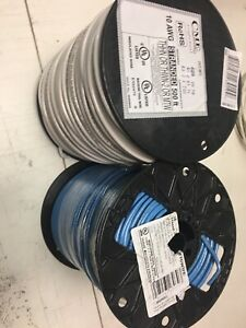 1000 Thhn 10 Awg Gauge Blue White Stranded Copper Wire