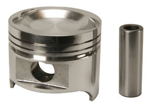 Speed Pro H418cp Pistons 8 pack Hypereutectic Coated Dish Top For Ford 460