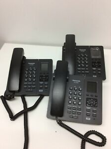 Lot Of 3 Panasonic Kx tpa65 Business Phone 1 8 Color Lcd Used No Power Adapter