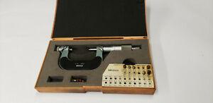 Mitutoyo 126 138 1 2 Screw Thread Pitch Micrometer W 11 Anvil Parts Shelf W3