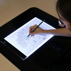 Led Electronic Whiteboard A4 Light Pad Drawing Tablet Tracing Pad Sketch Book